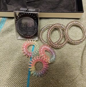 invisibobble 3-pack hair ring ties lot of 3